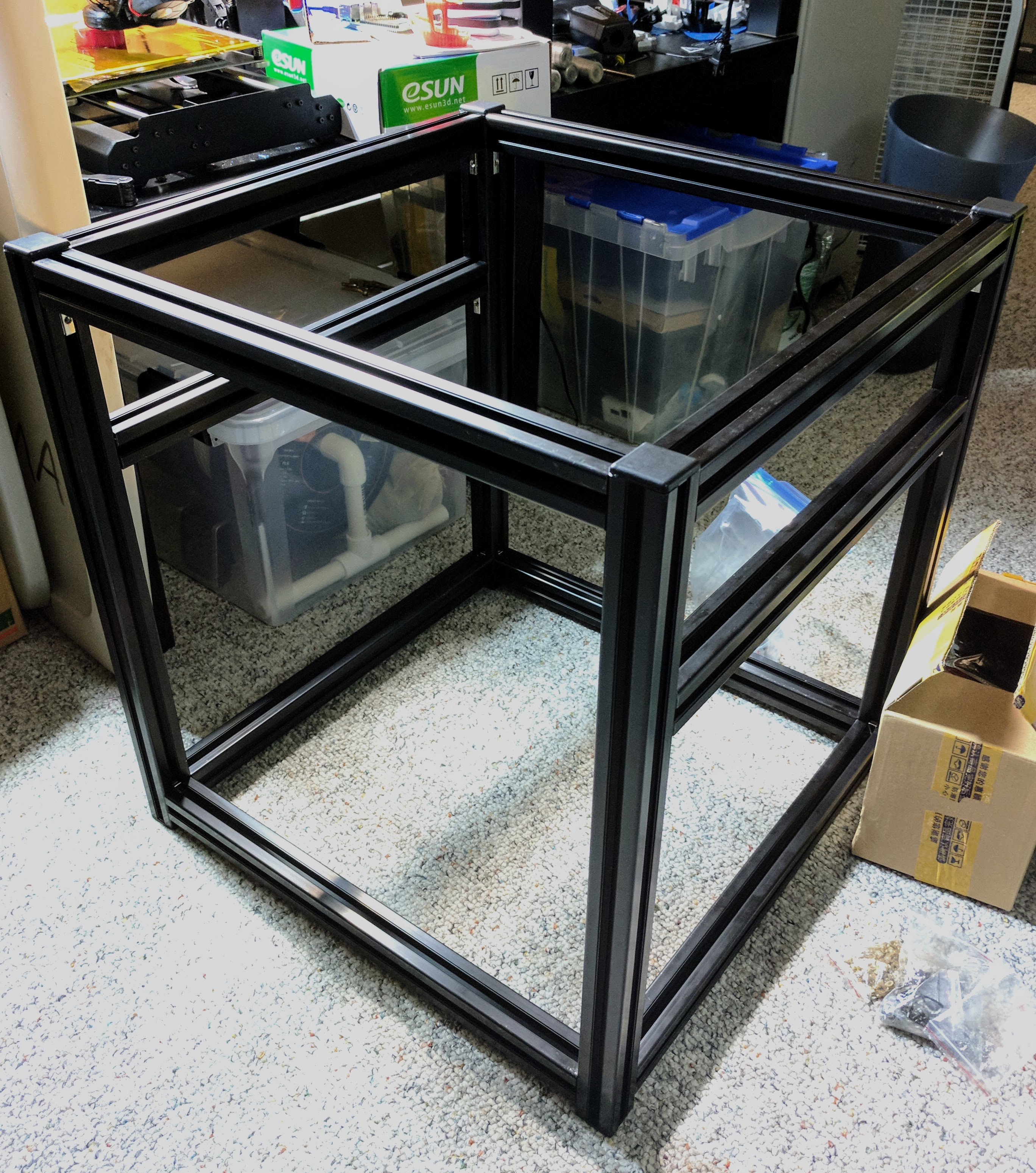 hypercube evolution build log starting out obviate io